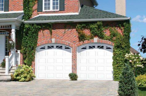 Exterior photo of Residential Steel Raised Panel Garage Door