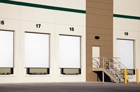 Exterior photo of Overhead Commercial Garage Door