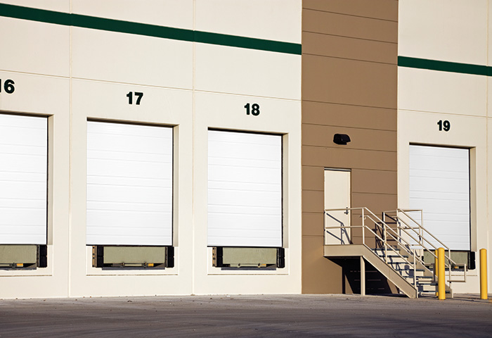 Exterior photo of Overhead Commercial Garage Door