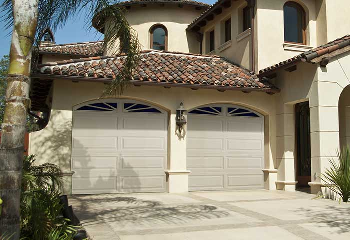 Exterior photo of Residential Steel Raised Ranch Panel Garage Door