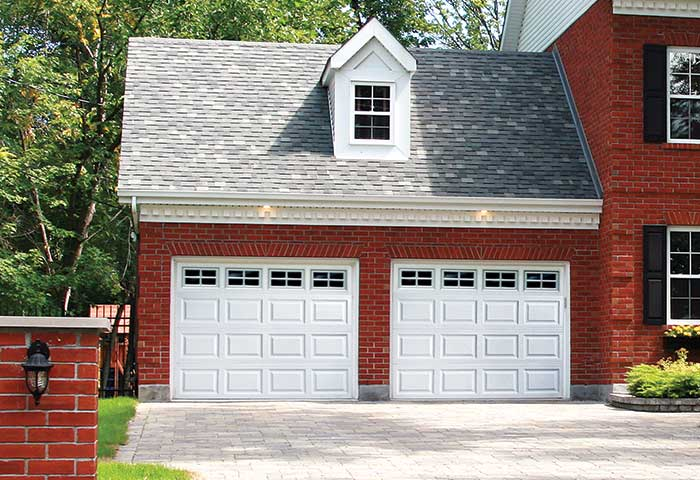 Exterior photo of Residential Steel Raised Panel Garage Door
