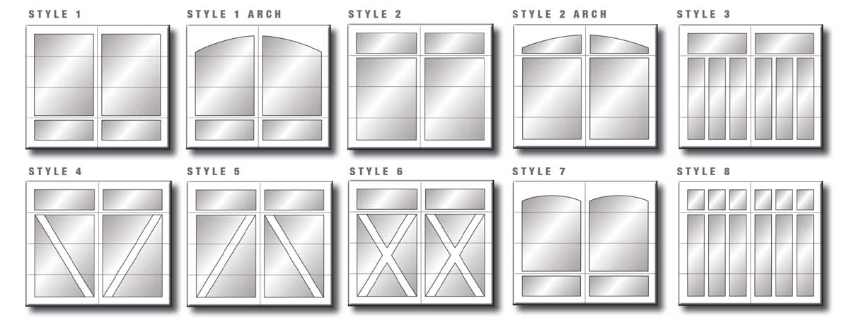 Carriage Creek Window Styles