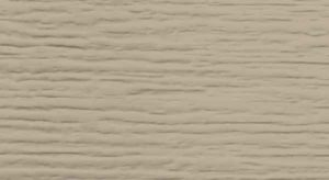 Closeup photo of garage door texture - sandstone