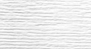 Closeup photo of garage door texture - white