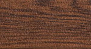 Closeup photo of garage door surface - walnut