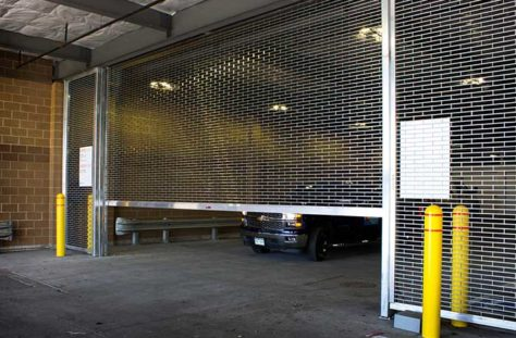 Commercial Rolling Grille Garage Door
